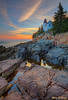 Bass Harbor Sunset 6526 w43