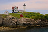 Cape Neddick - Hubble Lighthouse Maine  9795