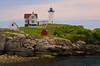 Cape Neddick - Hubble Lighthouse Maine  9795