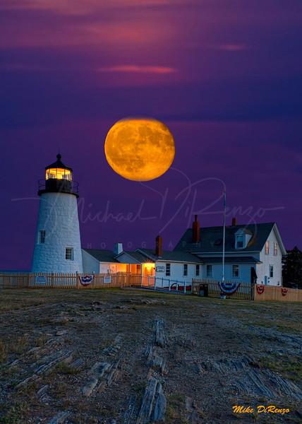 Pemaquid Evening Moon 5467 w48