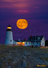 Pemaquid Evening Moon 5467 w48