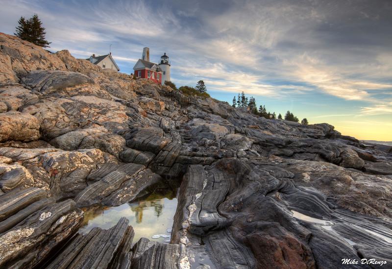Pemaquid Reflection on the Rocks 2853 w39