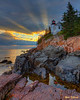 Bass Harbor Heavenly Sunset 0446  w57