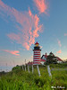 West Quoddy Lighthouse at Sunset 1105 w63