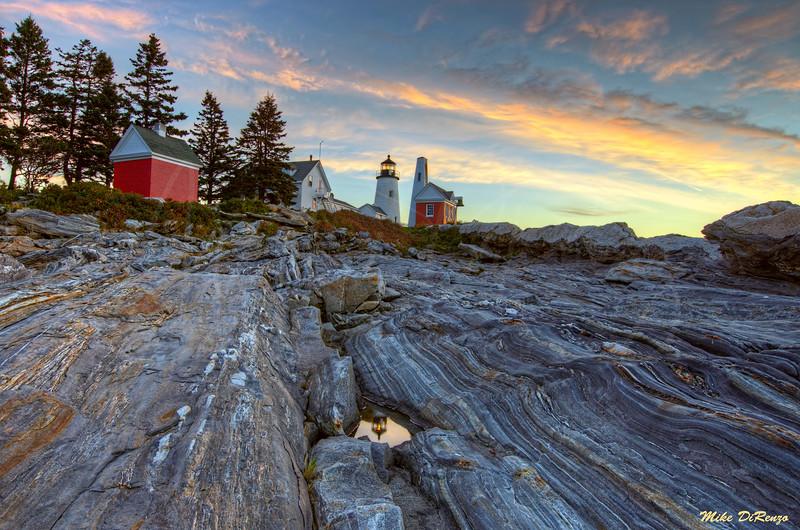 Sublime Sunrise - Pemaquid Point Maine 2760 w39