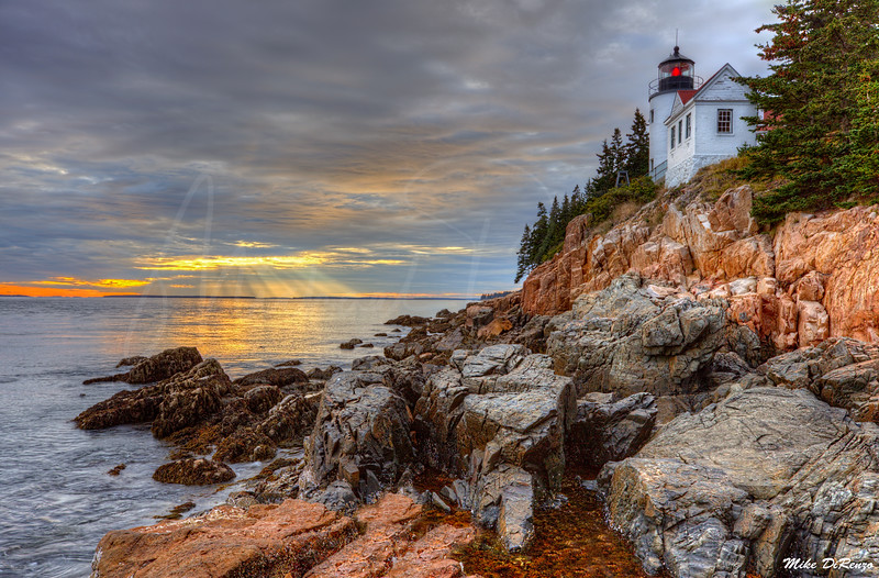Day's End at Bass Harbor 3039 w40