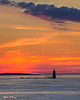 Ram's Island Lighthouse Before Dawn 8960 w57