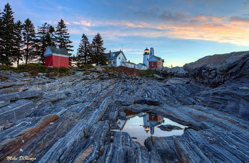 Pemaquid Pre-Dawn Reflection 2751 w40