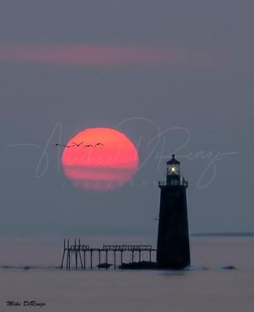 Ram's Island Sunrise 0919 w38