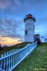 Nobska Lighthouse Sunset  5253 w29