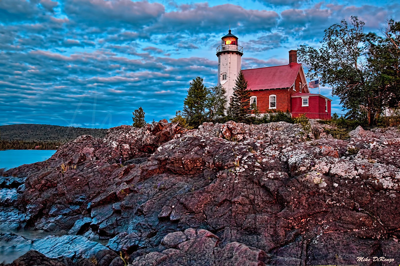 Eagle Harbor Lighthouse  - UP Michigan 3849  w30