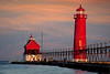 Dawn at Grand Haven Michigan 4817