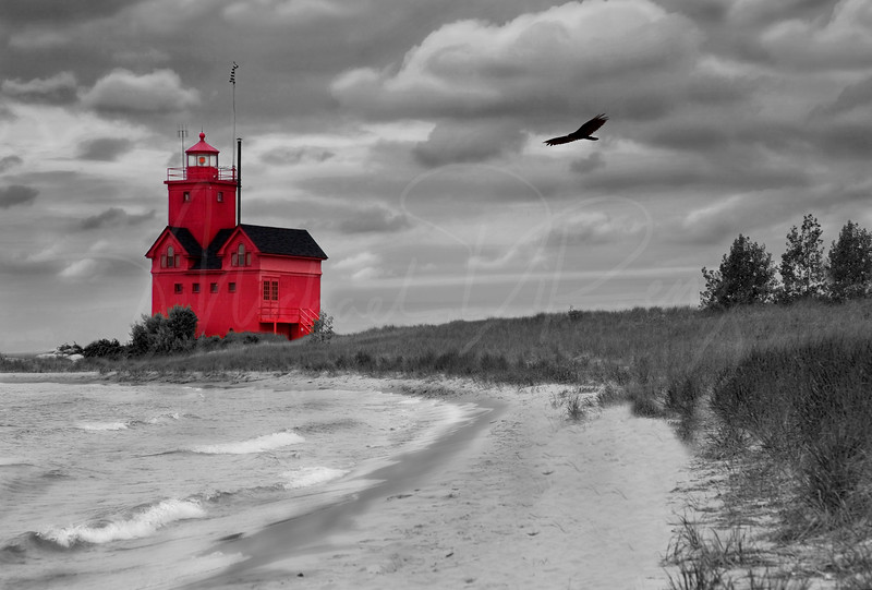 Big Red Lighthouse  8718   w21