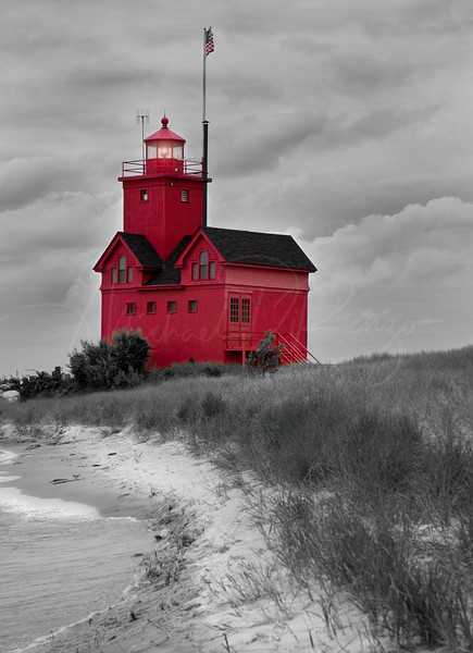 Big Red Lighthouse 3643