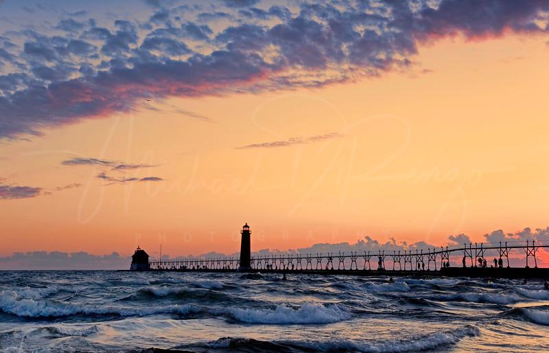 Grand Haven Sunset 3515