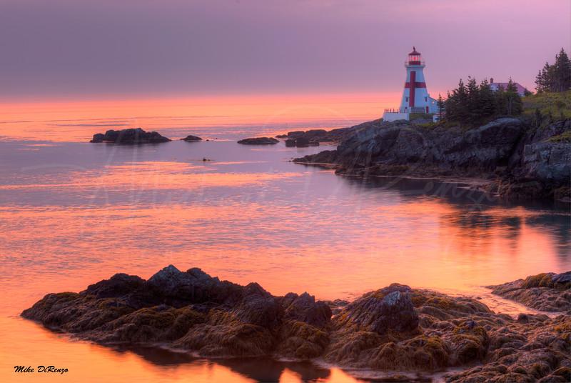 Golden Sunrise on Campobello Island 0780 w63