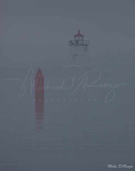 Two Harbors  in the Fog  4326 w34