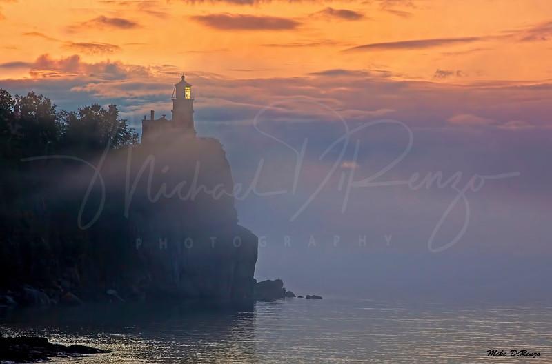 Foggy Split Rock Lighthouse 4628 w55