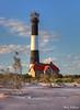 Fire Island Lighthouse Sundown  6794 w28