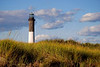 Lighthouse Behind the Dunes     w1