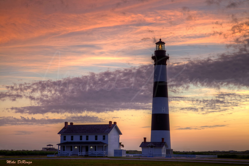 Bodie Island Lighthouse Sunrise 0088 w36