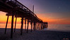 Avon Pier Moonset at Dawn 9628 w36