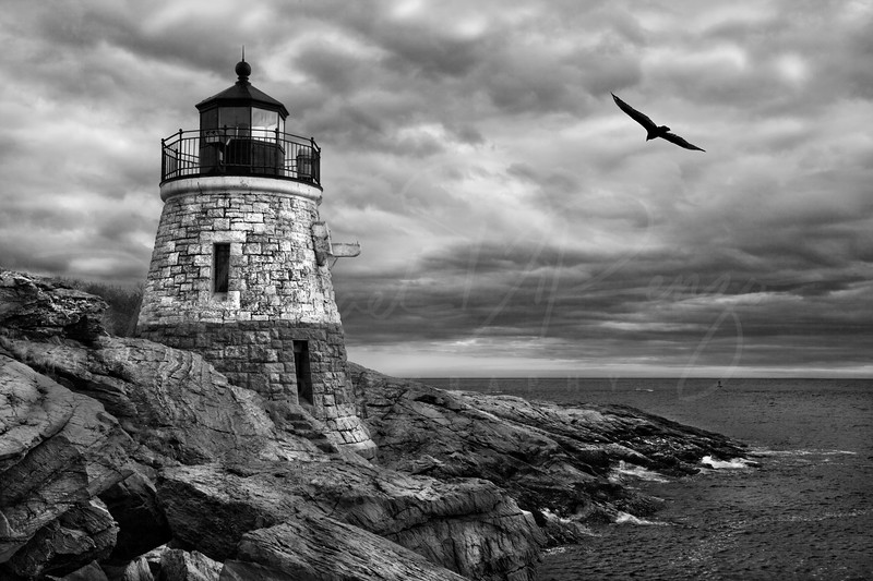 Stormy Skies of Narragansett Bay 8978 w12