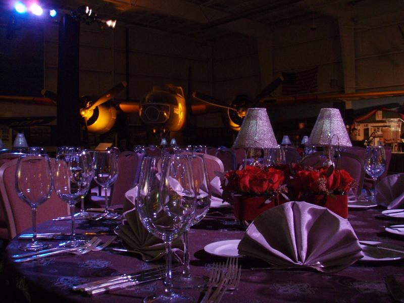 """<div id=""""ibdJournal"""">Corporate Dinner Party at the Palm Springs Air Museum, Palm Springs, CA."""