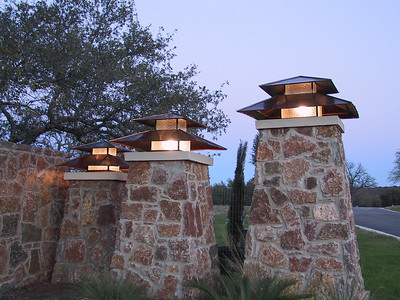 Double roof lantern - Marble Falls, TX