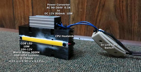 COD LED - 10W 12cm Strip