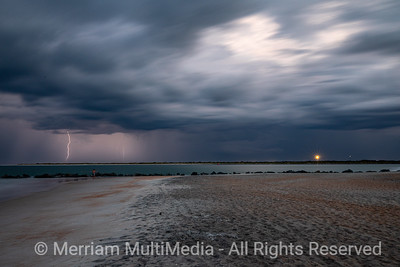 Lightning and Storms on Vilano Beach