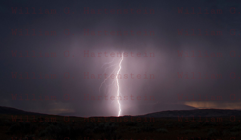 Lightning Antelope Valley 08-01-2017