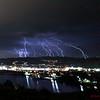 Lightning over Castaic, CA. 03-05-2019 Multi Images