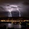 Lightning over Castaic, CA. 03-05-2019