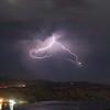 Lightning over Lake Castaic, Castaic, CA. 09-02-2017