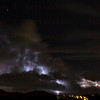 Lightning from Santa Clarita, CA. Oct. 14, 2014
