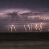 Lightning off the coast of Ventura, CA. 09-10-2017