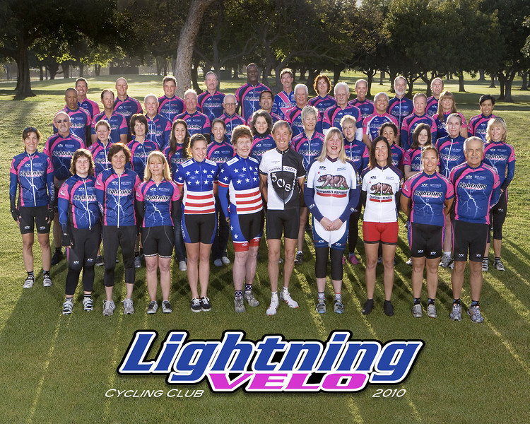 2010 Lightning Velo Cycling Club Official Photo