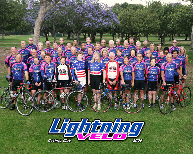 2009 Lightning Velo Cycling Club Official Photo