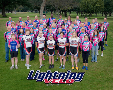 2007 Lightning Velo Cycling Club Official Photo