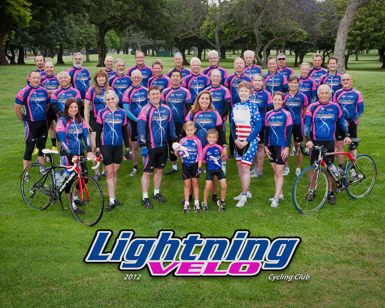 2012 Lightning Velo Cycling Club Official Photo