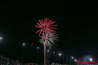 2017 Canada Day Fireworks at Nitro Nationals at Toronto Motorsports Park