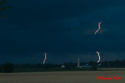 Lightning & Fireworks
