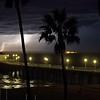 Dynamic Stormy Pier