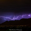 Lightning over the McDowell Mountains in Scottsdale, Az on May 3, 2015