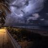Lightning Beach & Street Scene