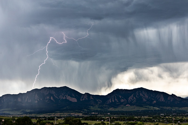 Flatirons Light Show