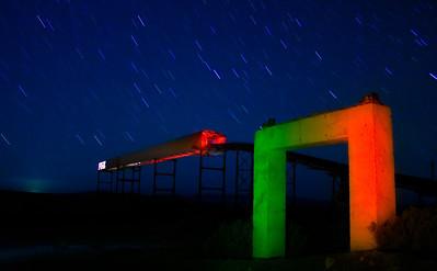 Gate Way with Laser Gun. marblehead
