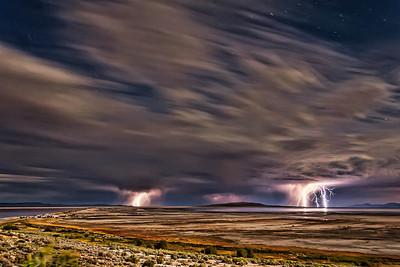 """Great Salt Lake, Utah; Energizer Bunny, """"Shot 69"""""""