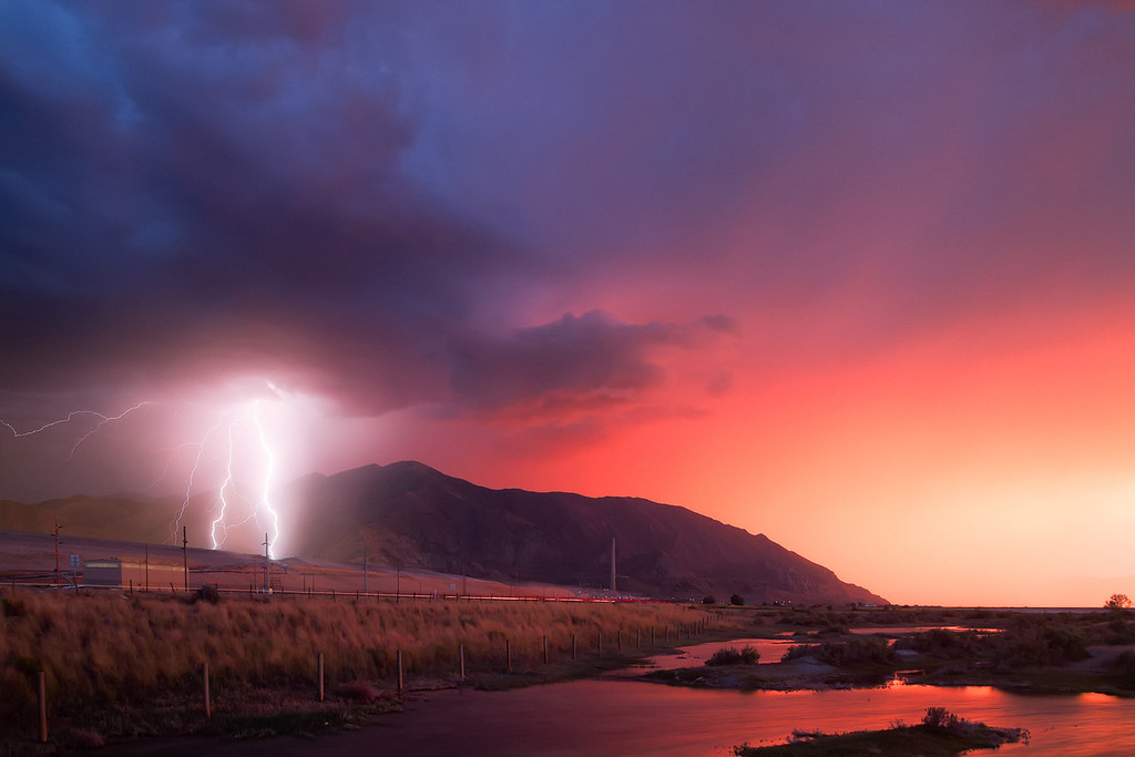 summer storms in utah